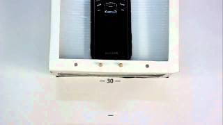 Samsung B2710 Xcover. Падение на плитку с 30 см