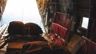 C130J airdrop Heavy Equipment