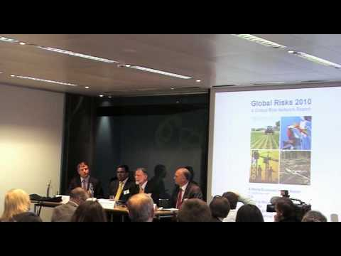 Global Risks 2010 - Press Conference