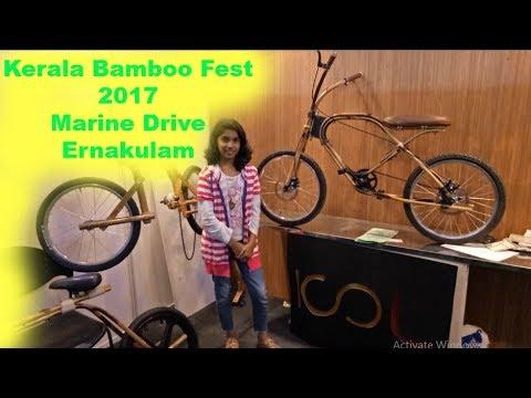 A Night Out in Kochi | Kerala Bamboo Fest 2017 | Marine Drive | Ernakulam
