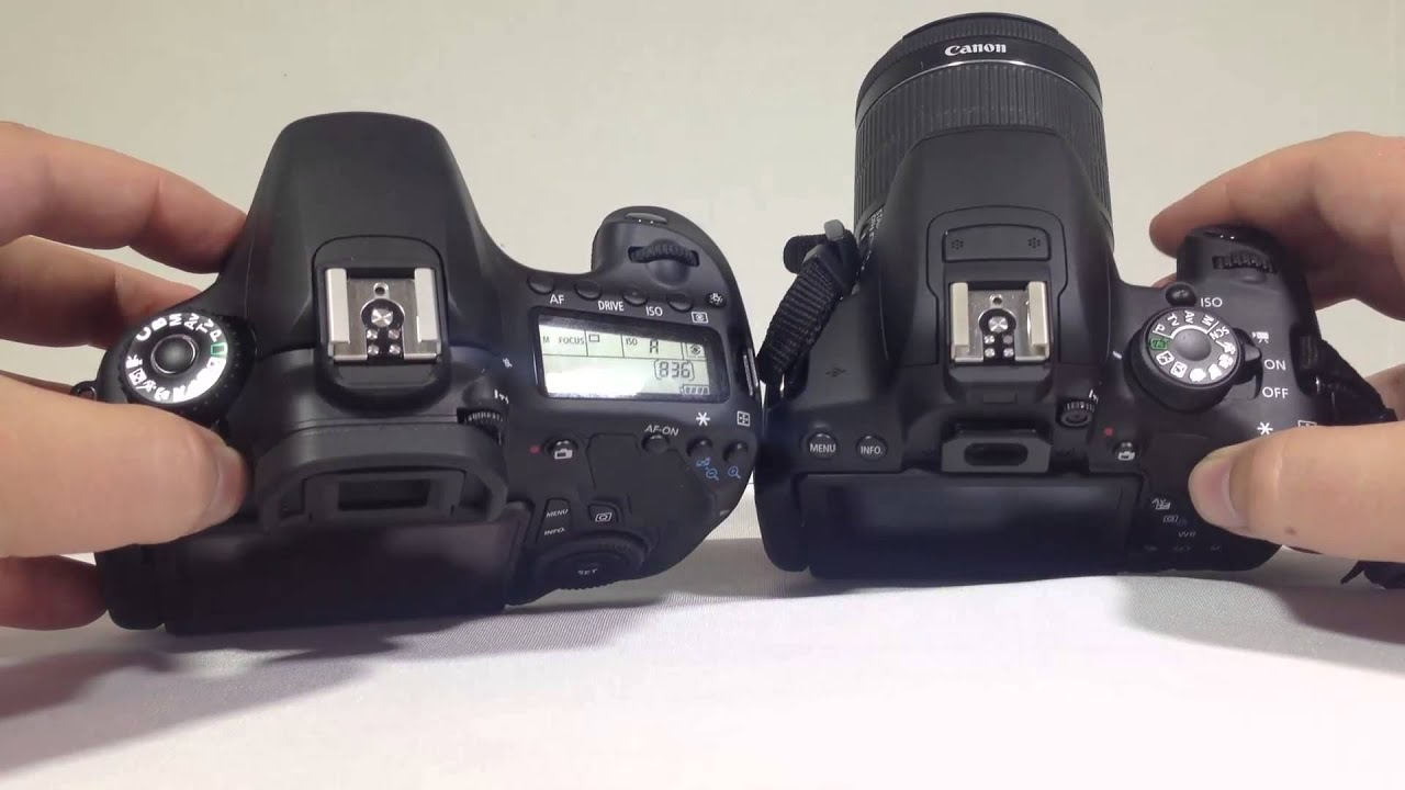 Canon Eos Rebel T5i Vs Canon 60d Review Youtube