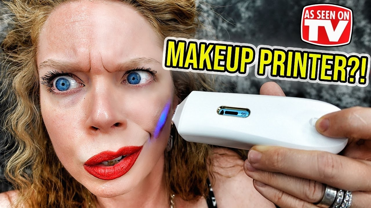 OPTE Makeup PRINTER?! - Does This Thing Really Work?!