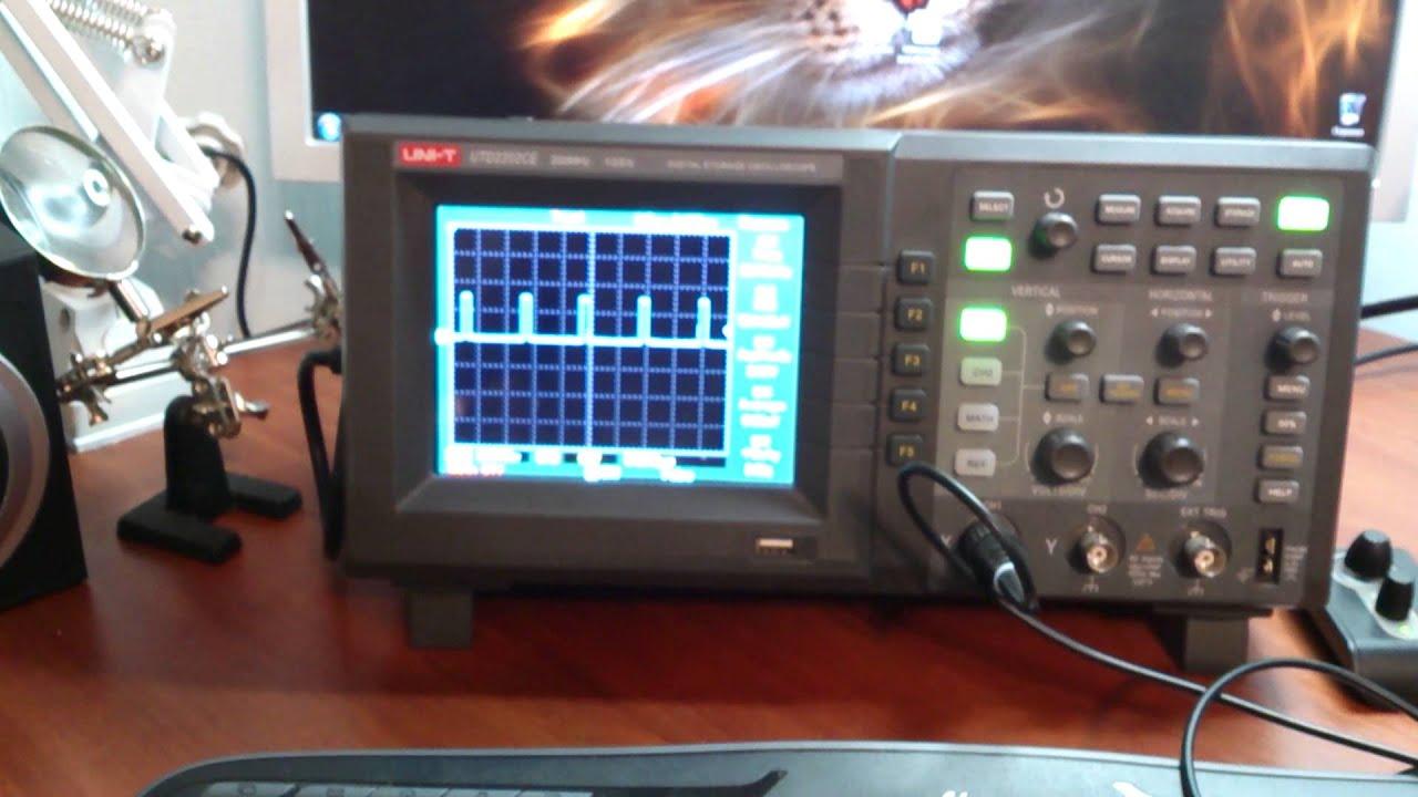 PWM (by STM32) + LED + Rotary encoder