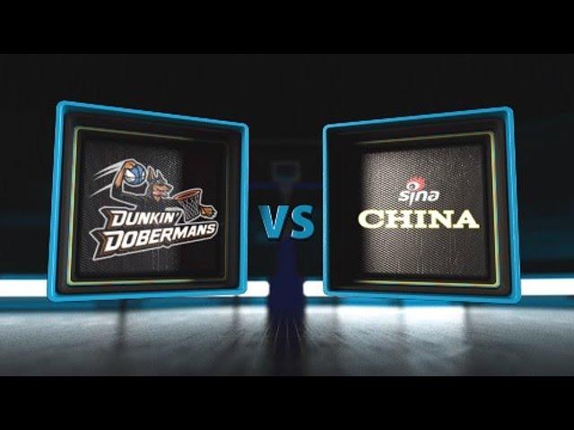 3BALL USA Showcase | Day 3: Consolation Game | Dunkin' Dobermans vs. Sina China