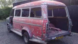 "FORD TRANSIT MK2 RESTORATION START TO FINNISH ""MY SUPERVAN"""