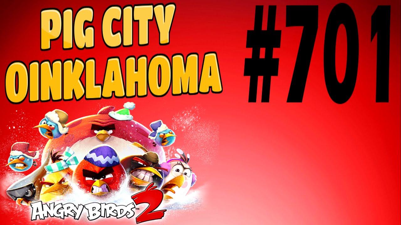 Angry birds 2 pig city oinklahoma level 701 three star - Angry birds trio ...