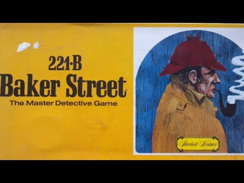 Ep 29: 221-B Baker Street: How To Play (Gammon Games  1975)
