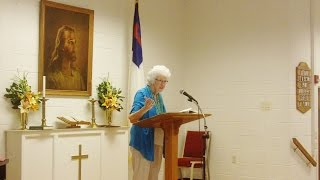 Sunday School-9/18/2016