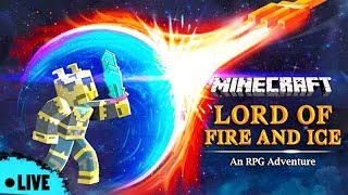 Lord of Fire and Ice: An RPG Adventure - Minecraft PE | in Hindi | BlackClue Gaming