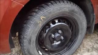 Лада XRAY - смена колёс