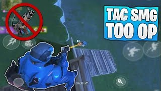 Fortnite REMOVED the Best gun in the game! (Tac SMG removed from Fortnite Mobile)