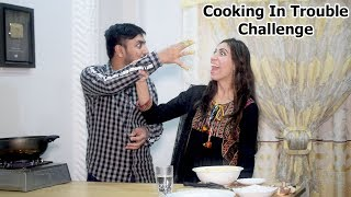 Trouble Cooking Challenge With Bilal - Pakora Making Challenge in 10 minutes - Kitchen With Amna