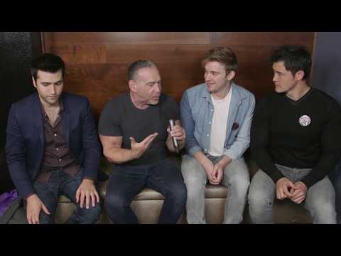 Freddie Smith, Chandler Massey & Christopher Sean Interview - Day of Days 2017 (Days of our Lives)
