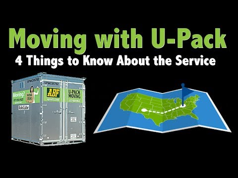 U-Pack: 4 Things To Know About The Moving Service