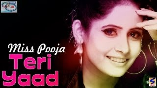 Miss Pooja | Teri Yaad | Jatinder Gill | Fresh New Song 2013,2014 Latest Punjabi SMI 2013