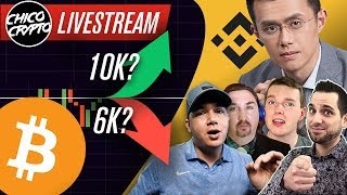 Shots FIRED! Binance Shills Attack!! BTC To 10k or 6k?? Tether Will Decide Our Fate!!