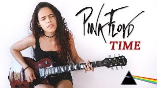 Pink Floyd - Time Guitar Solo Cover | Noelle dos Anjos
