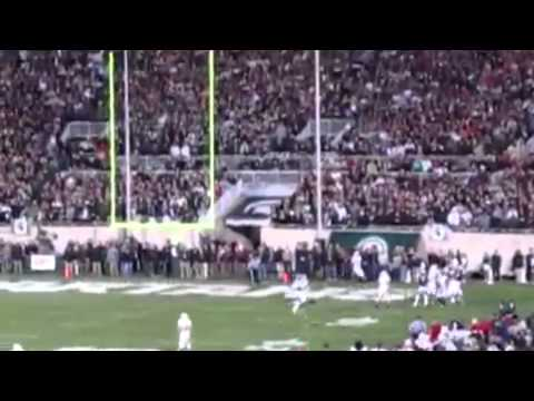 10/22/2011 - Michigan State 37 Wisconsin 31 - George Blaha Radio Highlights