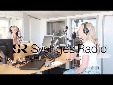 Följ med mig till Sveriges Radio! (Vlogg)