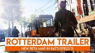 Rotterdam TRAILER + Battle Royale! | Battlefield 5 New Trailer Reaction