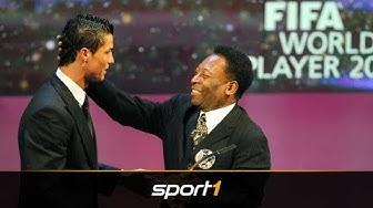 Pelé: Darum ist Ronaldo besser als Messi   SPORT1 - DER TAG