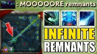 Infinite Auto Remnant in Ball Lightning [Triple Rampage Storm Ulti Abuse] Dota 2 Ability Draft