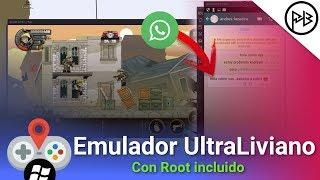 El Mejor Emulador de Android Para PC | Para Juegos & WhatsApp + Root 2017