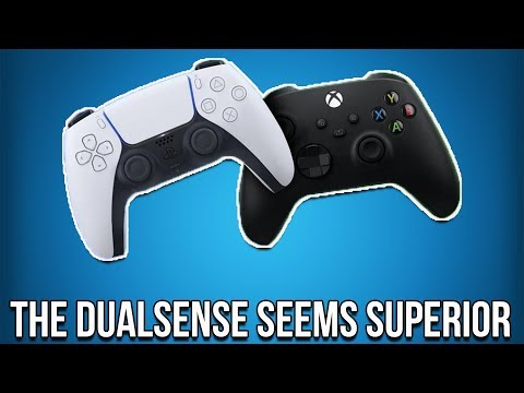 The DualSense Controller Seems VASTLY Superior To The Xbox Series X Controller