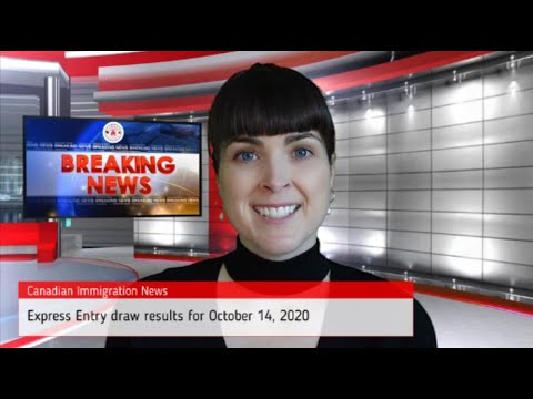 Canadian Express Entry Draw Results For October 14, 2020