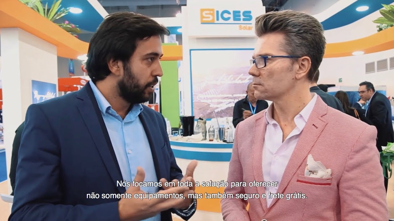 Solar Power Mexico 2019 Impressions & Discussion at SICES Solar Booth