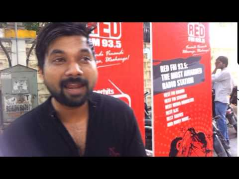 RJ Raj from Red FM Hyderabad takes on #icebucket challenge