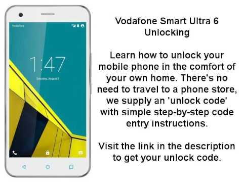 Unlock Vodafone Smart Ultra 6 (VF995 OT-V995) By Unlock Code