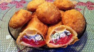 Пирожки Бомбочки / Жареные Пирожки с Начинкой / Pies With Cottage Cheese / Очень Простой Рецепт