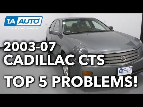 Top 5 Problems Cadillac CTS Sedan 1st Generation 2003-07