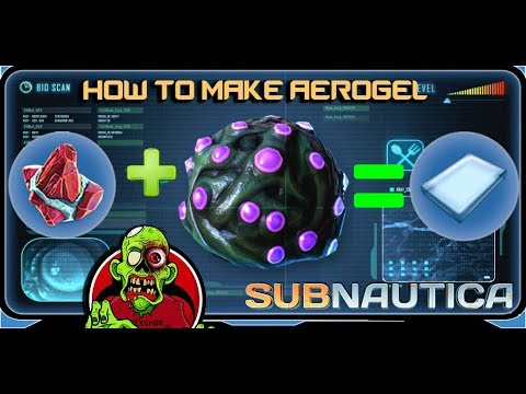 how to make aerogel 2018 subnautica youtube. Black Bedroom Furniture Sets. Home Design Ideas