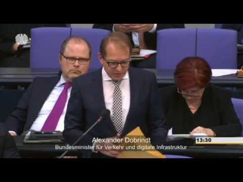 Offene Fragen zu Volkswagen / Dobrindt, Alexander, Bundesminister für Verkehr