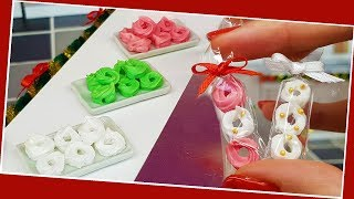 Mini Meringue/  Miniature cooking / Mini Food / Jenny's mini cooking show / 食べれるミニチュア