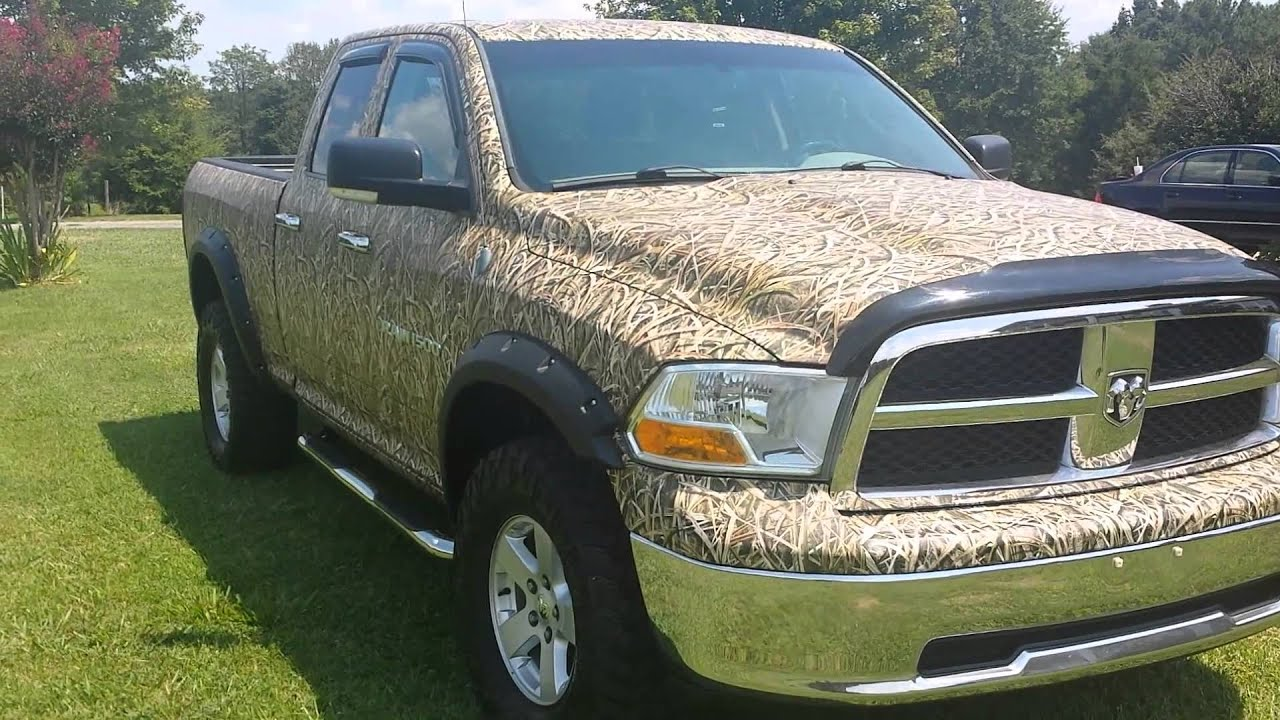 Mossy Oak Paint Job