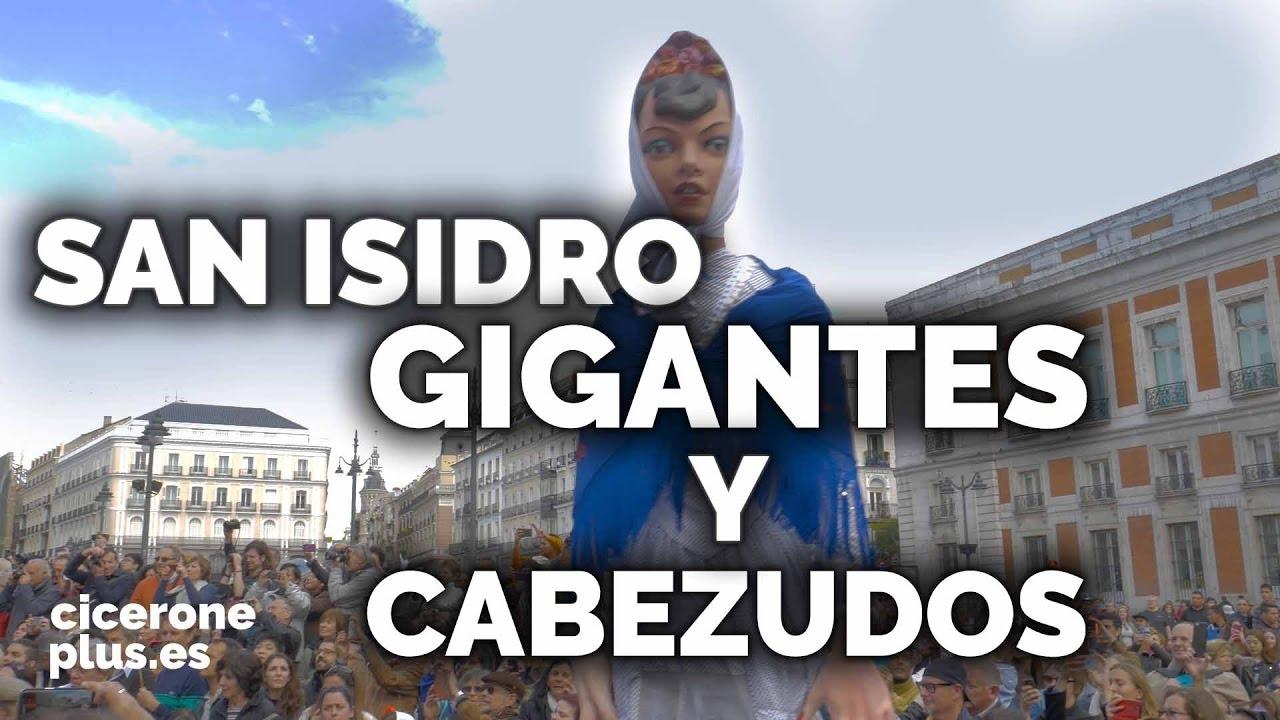 San Isidro Madrid Comparsa De Gigantes Y Cabezudos De Madrid 2016