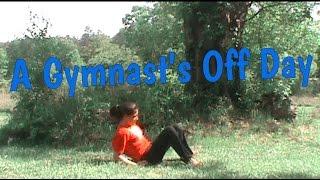 A Gymnast's Off Day | Nearly Breaking My Neck! | Gymnastics 101