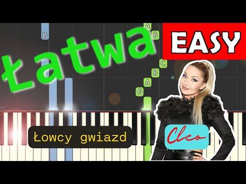 🎹 Łowcy Gwiazd (Cleo) - Piano Tutorial (łatwa wersja) 🎹
