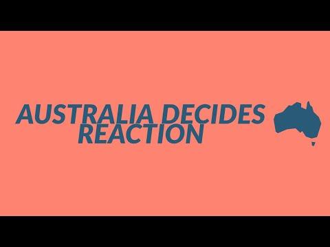 AUSTRALIA DECIDES REACTION 2 | Alfie Arcuri & Leea Nanos