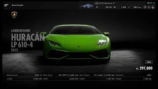 Gran Turismo Sport all cars (2019)