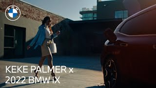homepage tile video photo for Keke Palmer & the 2022 BMW iX: Can't be Contained   BMW USA
