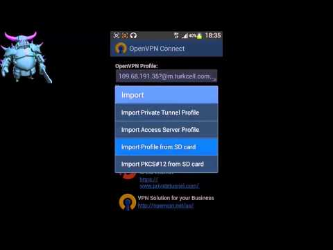 Turkcell Openvpn ile Bedava İnternet 2015