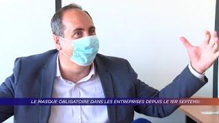 Yvelines | Port du masque obligatoire dans les entreprises depuis le 1er septembre