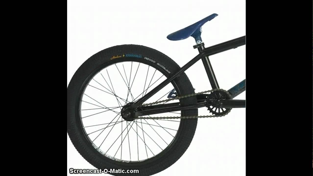 Stolen Sinner BMX Bike 2011 [ Black + Red ] - YouTube