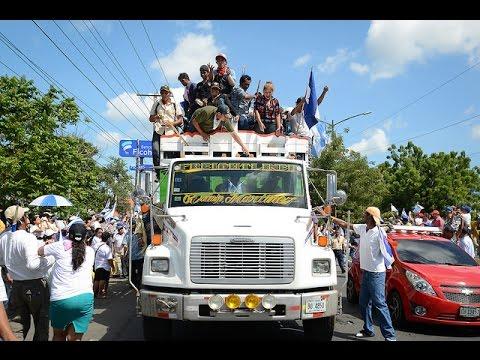 """1ra Marcha nacional contra el canal: """"Vencimos la muralla de Ortega"""""""