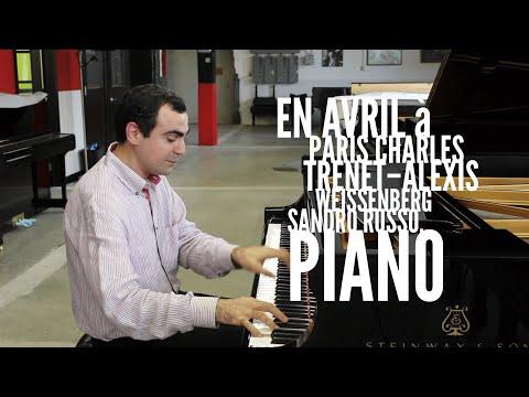 Trenet-Weissenberg: En Avril à Paris - Sandro Russo, Piano