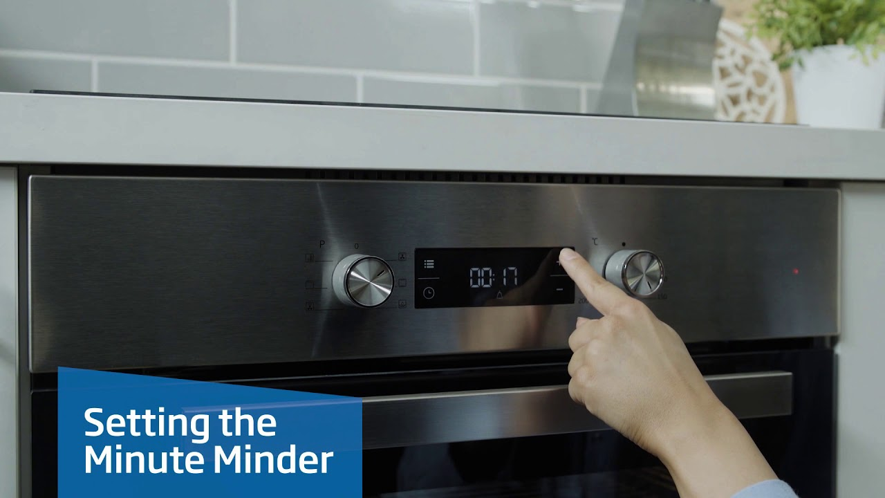 How to set up your LED display on your Beko oven